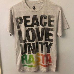 Zion Rasta shirt, small
